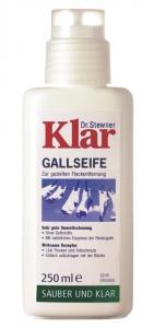 09.15.36 Klar Bio Gallseife 0,25 l Bürstenflasche, Waschen und Reinigen