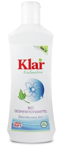09.16.34 Klar Bio Desinfektionsmittel 0,25 l Flasche, Waschen und Reinigen