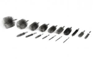 10.55.00 bis 10.55.14, 10.07.13, 10.07.14 Rohrbürste  M6, 3-8 Zoll, 1-2 Zoll Gewinde Stahldraht, Rohr