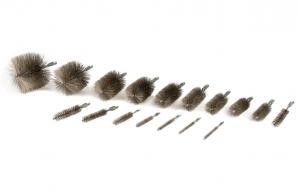 10.65.00 bis 10.65.15, 10.07.30 Rohrbürste M6, 3-8 Zoll, 1-2 Zoll Gewinde Edelstahldraht V2A, Rohr