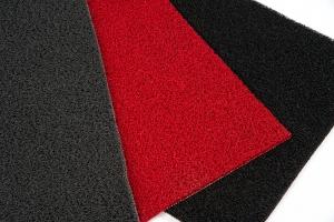 11.21.00, 11.21.01, 11.21.02, Topas Schlingenmatte, schwarz, rot, grau, Schmutzfangmatte, Sauberlaufmatte