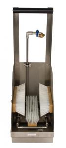 90.10.75 Poseidon Stationär Waschsystem Arbeitsschuhe Komplettset, Industrie Stiefelreinigung, Stiefelwaschanlage2
