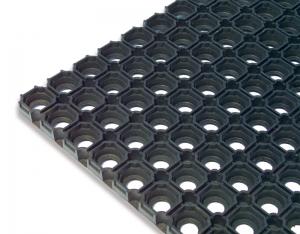 Domino Gummiwabenmatte, Eingangsmatte, Außenbereich
