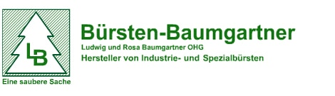 Bürsten-Baumgartner Industrie-, Spezialbürsten und Eingangsmatten Logo
